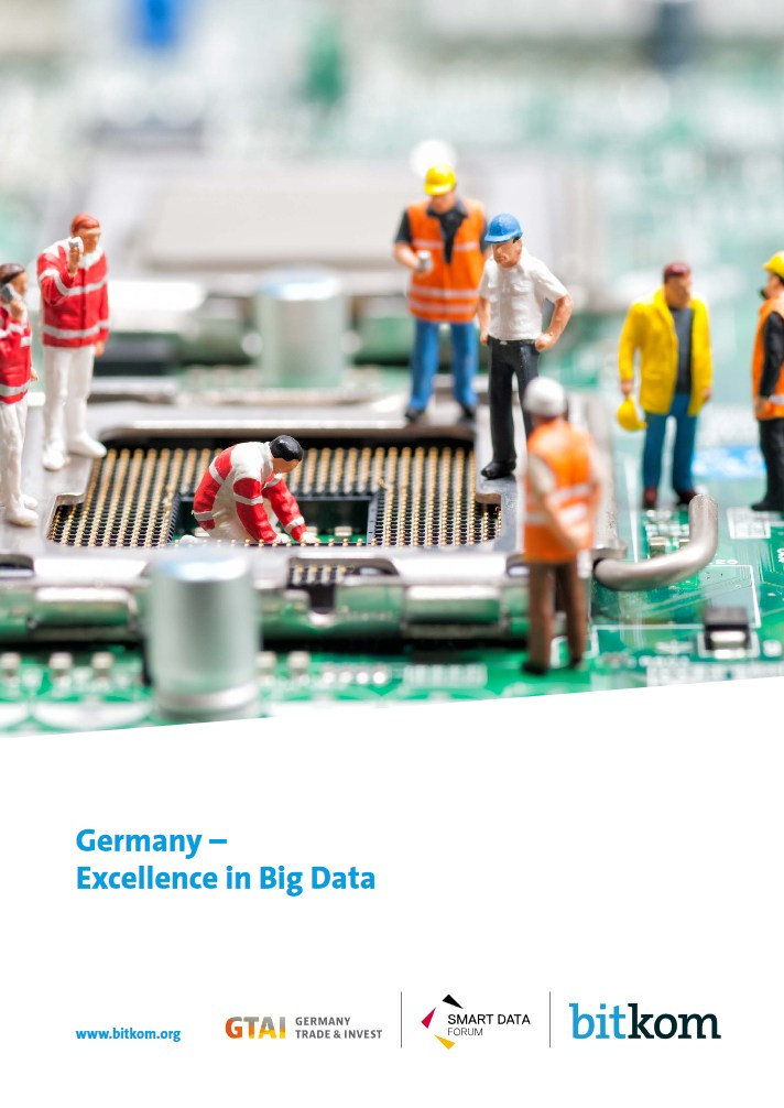 Germany - Excellence in Big Data Buchcover