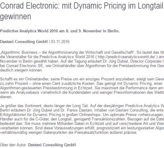 Conrad Longtail Article Screenshot