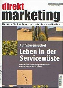 direkt Marketing 3-2008 Zeitschrift Cover