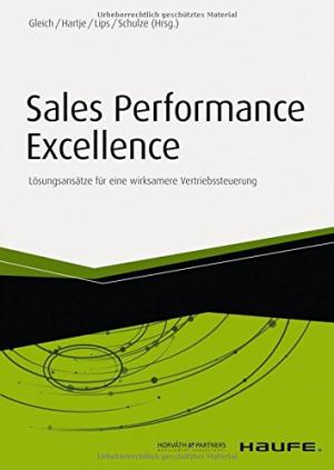 Sales Performance Excellence Buchcover