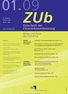 Zeitschrift der Unternehmensberatung 3-2007 Zeitschrift Cover