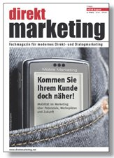 direkt Marketing 2-2008 Zeitschrift Cover