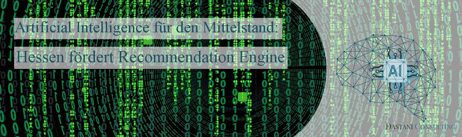 Recommendation Engine | Künstliche Intelligenz