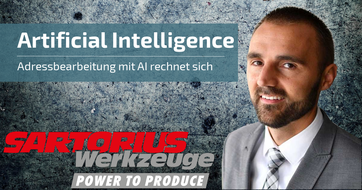 Artificial Intelligence | Sartorius Werkzeuge