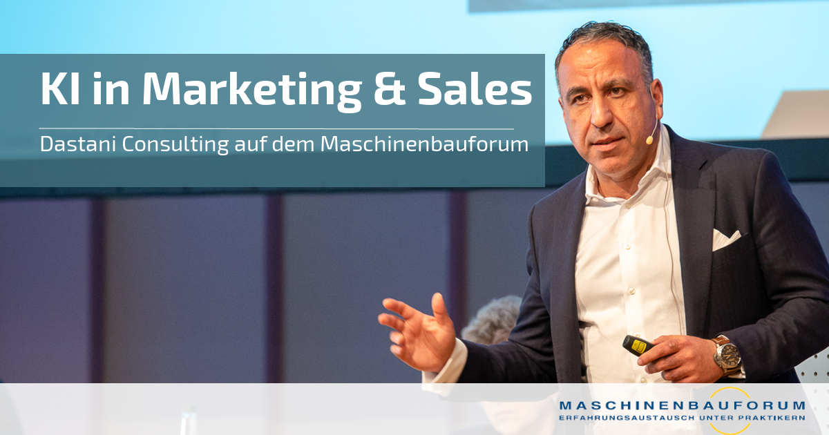 AI based Marketing & Sales | Dr. Dastani
