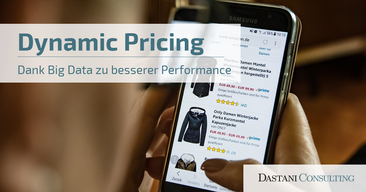 Dynamic Pricing | Dank Big Data zu besserer Performance
