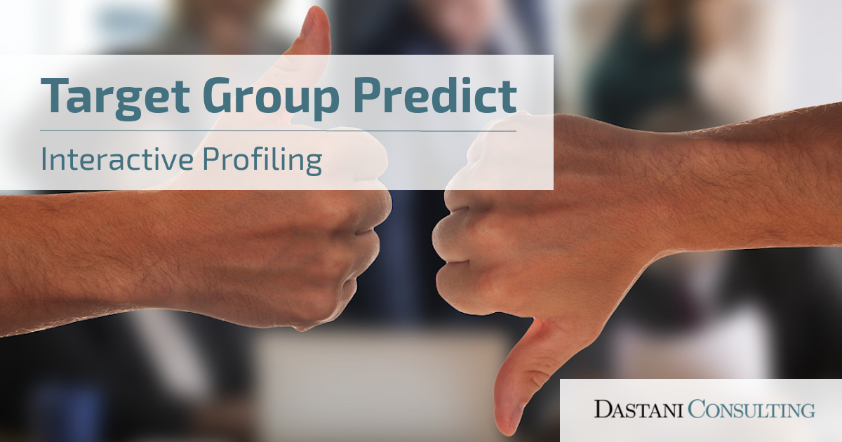 Target Group Predict | Interactive Profiling