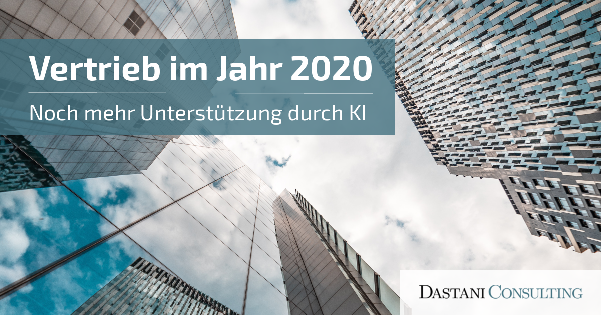Vertrieb im Jahr 2020 | Unterstützung durch KI