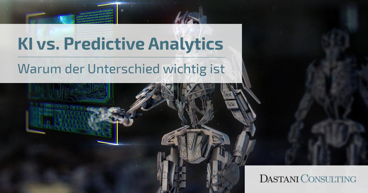KI vs. Predictive Analyitcs