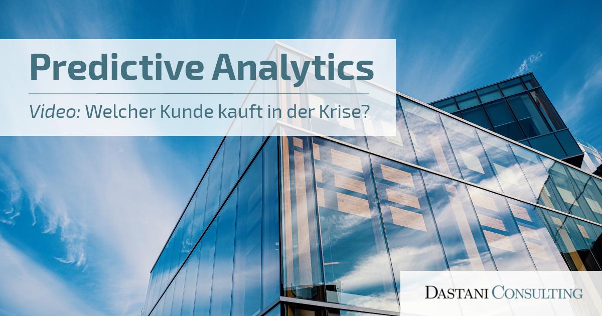 Predictive Analytics | Corona-Krise