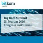 Big Data Summit Hanau